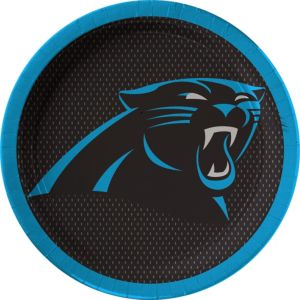 Carolina Panthers Lunch Plates 18ct