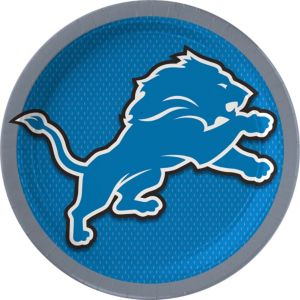 Detroit Lions Lunch Plates 18ct
