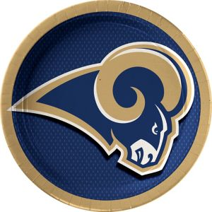 Los Angeles Rams Lunch Plates 18ct