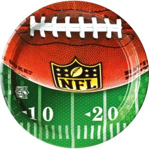 NFL Drive Dinner Plates 18ct
