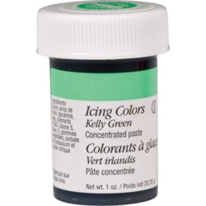 Kelly Green Icing Color