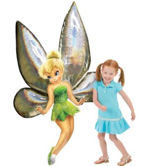 Giant Gliding Tinker Bell Balloon 66in
