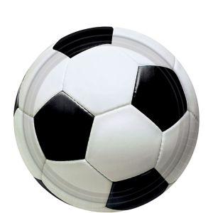 Soccer Fan Dessert Plates 8ct