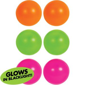 Black Light Beer Pong Balls