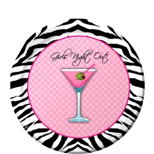 Sassy & Sweet Girls Night Out Dessert Plates 8ct