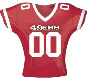 San Francisco 49ers Balloon - Jersey