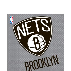 Brooklyn Nets Lunch Napkins 16ct