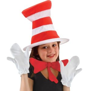 Child Cat in the Hat Accessory Kit - Dr. Seuss
