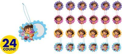 Dora the Explorer Slide Mirrors 24ct