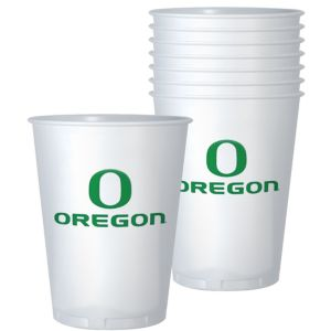 Oregon Ducks Plastic Cups 8ct