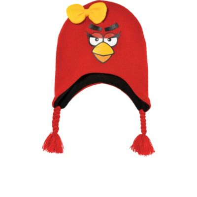 Angry Bird Girl Peruvian Hat