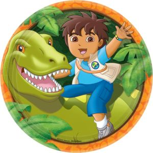 Go, Diego, Go! Lunch Plates 8ct