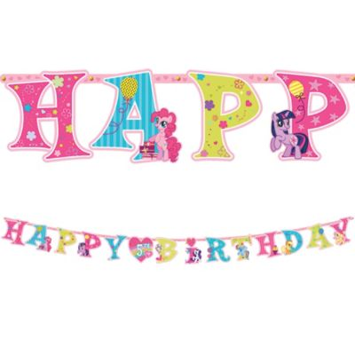 My Little Pony Birthday Banner 10ft