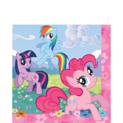 My Little Pony Lunch Napkins 16ct