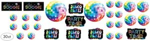 Disco 70s Cutouts 30ct