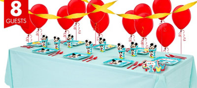Mickey Mouse 1st Birthday Party Supplies Basic Party Kit