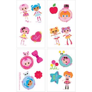 Lalaloopsy Tattoos 1 Sheet