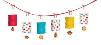 1st Birthday Fisher-Price Circus Lantern Garland 12ft