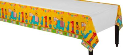 1st Birthday Fisher-Price Circus Table Cover