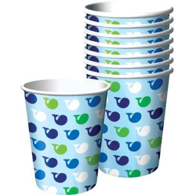 Ocean Preppy Birthday Cups 8ct