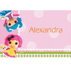 Custom Lalaloopsy Thank You Notes