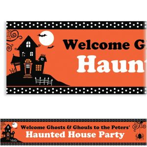 Custom Frightfully Fancy Banner 6ft