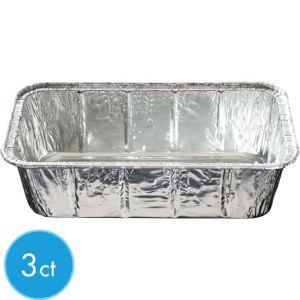 Aluminum Loaf Pans 3ct