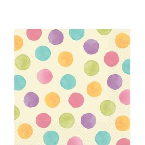 Soft Watercolors Lunch Napkins 16ct