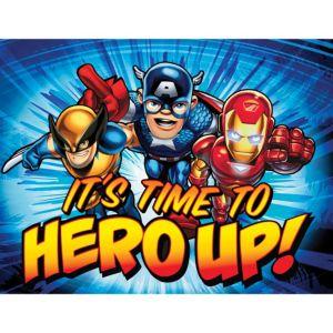 Marvel Super Hero Squad Invitations 8ct