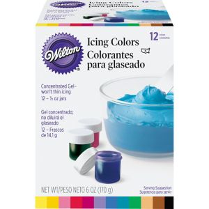 Wilton Color Icing Kit 12ct