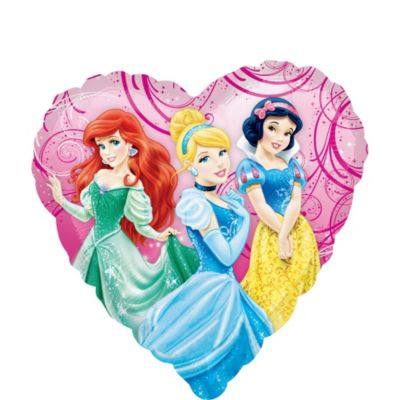 Disney Princess Balloon - Heart
