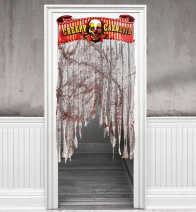 Creepy Carnival Doorway Curtain