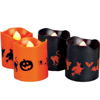 Halloween Flameless Votive Candles 4ct
