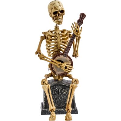 Animated Banjo Skeleton