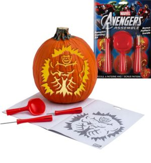 Avengers Pumpkin Carving Kit 10pc