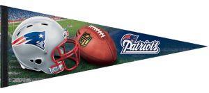 New England Patriots Pennant Flag Premium