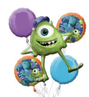 Monsters University Balloon Bouquet 5pc