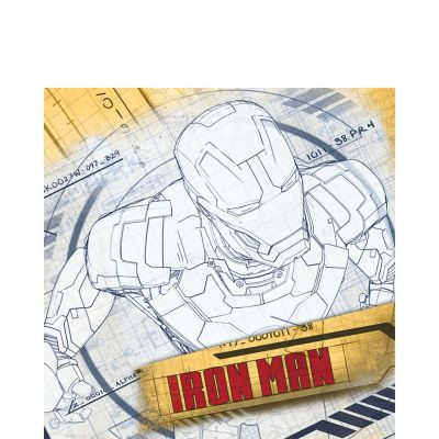 Iron Man Lunch Napkins 16ct