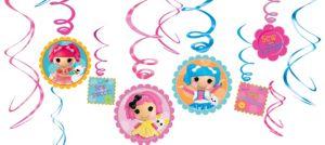 Lalaloopsy Swirl Decorations 12ct