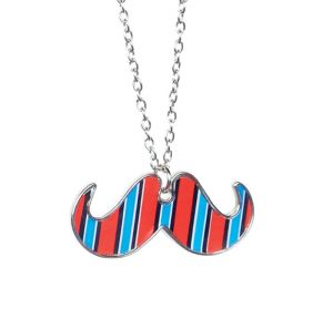 Geek Chic Mustache Necklace