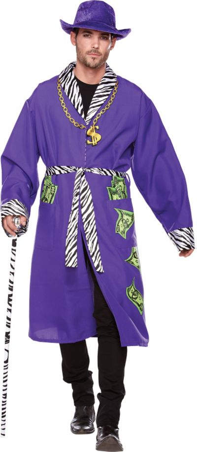 Adult Purple Pimp Robe