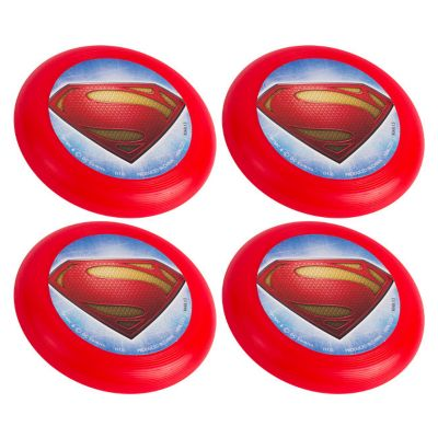 Superman Flying Discs 4ct