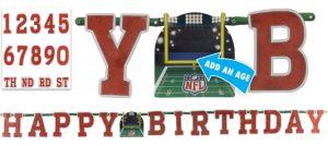 NFL Drive Birthday Banner
