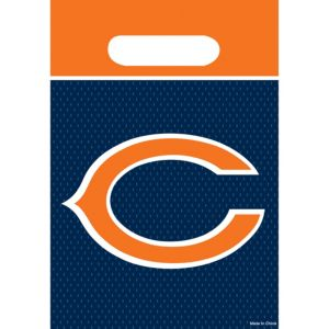 Chicago Bears Favor Bags 8ct