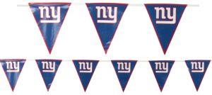 New York Giants Pennant Banner