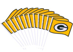 Green Bay Packers Flags 12ct