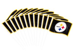 Pittsburgh Steelers Flags 12ct