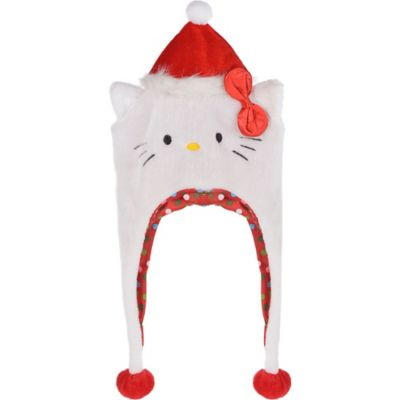 Christmas Hello Kitty Laplander Hat