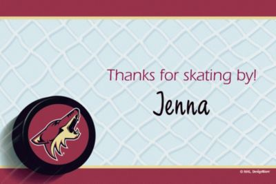 Custom Arizona Coyotes Thank You Notes