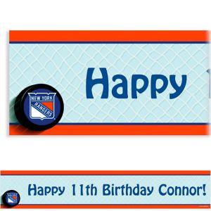 Custom New York Rangers Banner 6ft